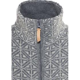 Fjällräven Övik Frost Cardigan Damen grey